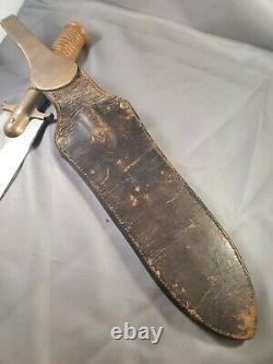 U. S. Cavalry Indian Wars Springfield Armory M1880 Hunting Knife & scabbard