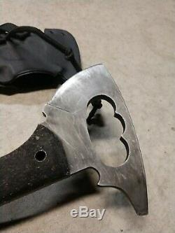 Used Winkler Knives Rescue Axe with Kydex Sheath