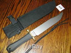 VINTAGE GERBER USA COFFIN HANDLE AUSTRALIAN BOWIE KNIFE model 5978 14.75OAL EXC