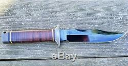 Vietnam 5th Special Forces Group SOG S1 Bowie fixed blade knife Japan rare
