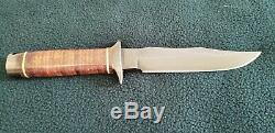 Vietnam 5th Special Forces Group SOG S1 Bowie fixed blade knife SEKI Japan rare