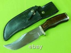 Vintage 1970's US Colt Sheffield England Made Bowie Hunting Knife & Sheath