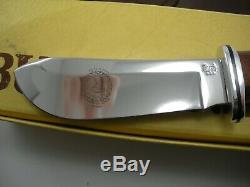 Vintage 1989 Custom Club Buck 103 Skinner Knife In Box Never Used