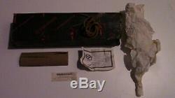 Vintage 1996 Blackjack Trail Guide knife, Effingham IL, orig box & all paperwork
