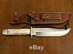 Vintage AG Russell 1999 Hunting Knife Stag, Condition Is Used