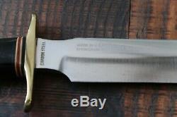 Vintage Blackjack USA Model 1-7 Hunting/Fighting Knife with Sheath Effingham, IL
