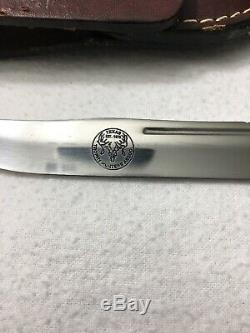 Vintage CASE XX USA 516-5 STAG fixed blade KNIFE Texas Trophy Hunters ASSOC
