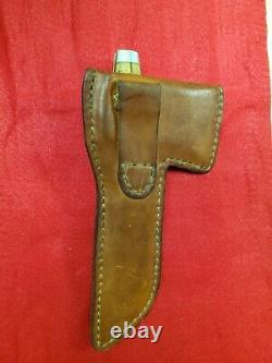 Vintage Case XX Stag Hunting Knife and Hatchet Combo with Sheath RARE