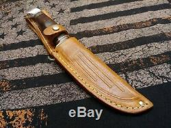 Vintage Case old hunting knife bowie survival skinning bird trout VN 1930's/40's