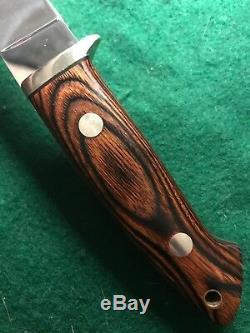 Vintage Custom Prototype Loveless Knife Tak Fukuta Seki Japan Ducks Unlimited