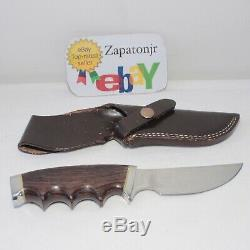 Vintage GERBER Hunter Knife MODEL 425 all weather handle WITH SHEATH