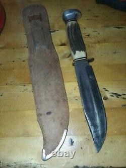 Vintage Henley & Co Othello Germany German Stag Hunting Bowie Knife Knives