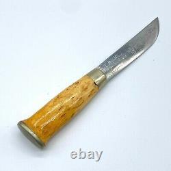 Vintage J. Marttiini Rovaniemi Lapinleuku Handmade Knife Finland Collectible