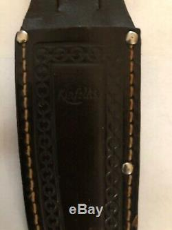 Vintage Kinfolks Sheath Knife and Hatchet Combo RARE Original Sheaths