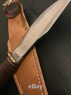 Vintage Marbles Gladstone Mich. Woodcraft Hunting Knife Pat'd 1916