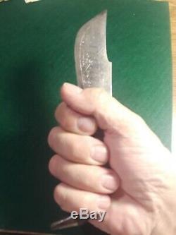 Vintage Original Spanish Horn Leverlock Navaja Folding Pocket Knife Hunting