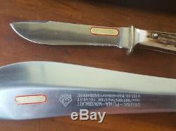 Vintage PUMA Knife Waidbesteck and nicker set 1979