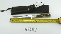 Vintage Puma Hunting Knife 116393 Germany Handmade Skinner 115688-4B LOC. U-27