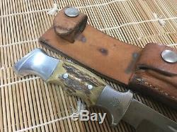 Vintage RUANA BONNER MONTANA Knife made in the USA