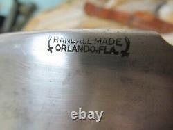 Vintage Randall #11 Hunting Knife
