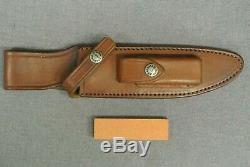 Vintage Randall Made Knives #1-6 All Purpose Fighter WithLeather Sheath and Stone