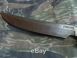 Vintage Randall Orlando, Fla. USA Model 3-7 Custom made Knife No sheath Named