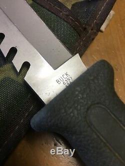 Vintage/Rare 1997 Buck Fieldmate 639 Fixed Blade Knife -With Sheath NICE