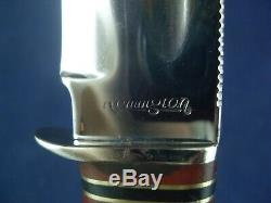 Vintage Remington RH 36 UMC Knife with Sheath