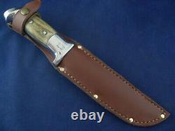 Vintage Rudy R. H. Ruana Knife with Sheath