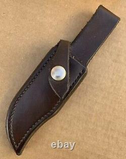 Vintage Track Knives IthacaGun BOB MARSHALL 191001 Ithaca Knife Handmade Custom