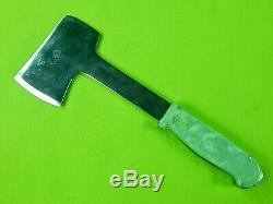 Vintage US Case XX Ka-Bar Western  Hunting Knife Hatchet Sheath Combo Set