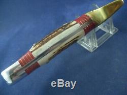 Vintage Western W49 I Large Bowie Knife with Sheath