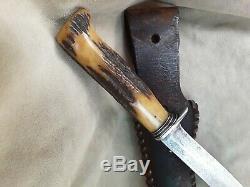 Vintage harry morseth custom knife