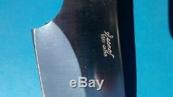 Vintage1990s Condor Secnos Seki Japan 79-z fixed blade hunting sheath knife