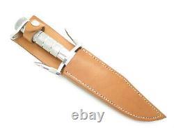 Vtg Imax Master Seizo Imai Seki Japan Mirror Polished Fixed Bowie Survival Knife