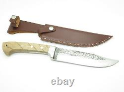 Vtg Imax Seizo Imai Seki Japan AUS-6 Field Master Fixed Bowie Hunting Camp Knife