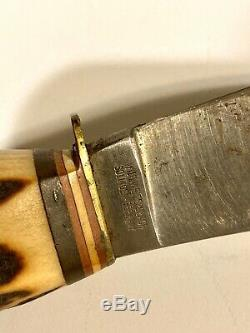 WEIDMANNSHEIL KNIFE SOLINGEN GERMANY WILH. WELTERSBACH USED CONDTION Stag