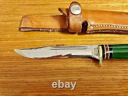 Western USA Knife Bird & Trout 1950's Hunting Excellent Vintage Original Rare