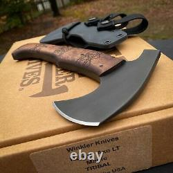 Winkler Knives Hunter Axe LT Maple Handle With Tribal Design Compact
