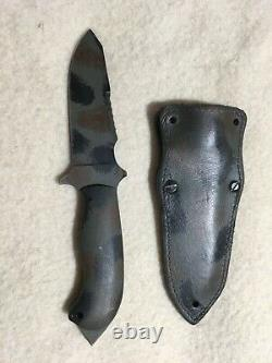 Winkler Knives S. A. R. Knife Fixed Blade with Micarta (4.90 Jungle Camo)