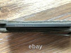 Winkler Knives ii SIG Sauer Flipper. Unicorn Knife. Amazing find. No reserve